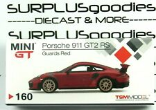 Tsm Model Mini-Gt 2020 Overseas Box Lhd Taiwan Exclusive Red Porsche 911 Gt2 Rs