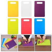 Non Slip Plastic Chopping Vegetable Fruit Board Baking Kitchen Cutting Board