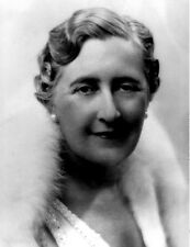 Agatha Christie UNSIGNED photo - P1524 - Crime novelist & short story writer