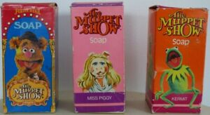 Set of Vintage Muppets Soaps from 1977/78