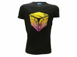 T-Shirt Original Fortnite Epic Games Official Black Cube Baby Boy Kid