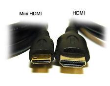 1.8m Mini HDMI a HDMI cable para Hisense Sero 7 Pro Tablet para TV LCD HDTV