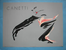 CANETTI  GLOVES Silk Screen Poster