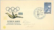 OLYMPIC GAMES / BASKETBALL - FDC COVER : AUSTRALIA 1956