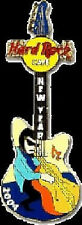 Hard Rock Cafe ONLINE 2004 New Year GUITAR PIN Bass Player - HRC Catalog #20761