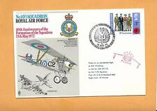 ROYAL AIR FORCE NO 1 SQUADRON 60th ANNIV OF FORMATION 1972 FLOWN IN