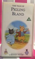 The Tale of Pigling Bland VHS Video Tape Beatrix Potter Collectable Rare TBLO