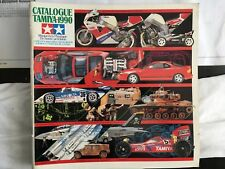 Vintage Tamiya 1990 Model Catalogue - French Language.