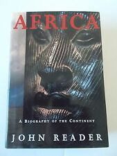 Africa Biography of Continent Book 1998 1st US Edition History War Geography Art