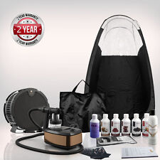 Aura Allure 'Deluxe' Spray Tanning KIT - Inc. Tent, Extractor fan & Suntana tan