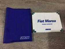 #5 GENUINE FIAT MAREA OWNERS MANUAL HANDBOOK FOLDER BOOK PACK SET Mk1 1996-2002