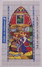 Stadspost Leeuwarden 1997 - Velletje Kerst, Christmas, Weihnachten code FRL