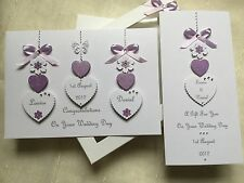 Personalised Boxed Wedding Card and Gift Voucher Wallet Engagement Anniversary
