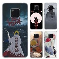 Naruto Sasuke Anime Phone Case For Huawei Mate 10 20 Lite Pro Hard Plastic Cover