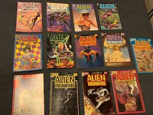 ECLIPSE COMICS - ALIEN ENCOUNTERS - ISSUES 1 - 14 MISSING #9