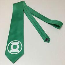 Green Lantern Necktie, Lucky Green Tie, New