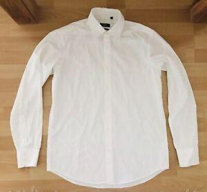 HUGO BOSS - Herren Hemd - Business Hemd - Gr. 40 15 3/4 - Regular Fit - Weiß