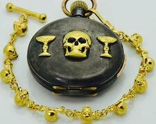 MUSEUM Victorian Doctor's Memento Mori SKULL LeCoultre caliber REPEATER watch