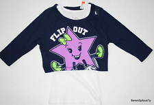NWT Justice Flip Out Gymnast Top T-shirt Over Tank 7