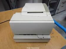 NCR 7158-1005-9001 RealPOS Hybrid Ticket Receipt Printer Serial White INCL PSU