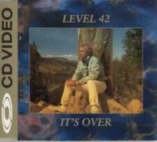 LEVEL 42 IT'S OVER CD VIDEO 4 TRACKS(3 AUDIO + 1 VIDEO) UK