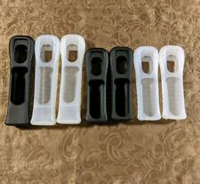 Nintento Wii Silicone Remote Controller Sleeves (4) Wiimote and (3) Motion Plus