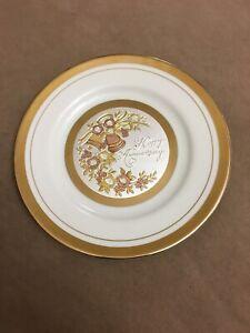 Happy Anniversary Chokin Plate