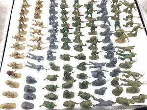 Airfix 1:32 Vintage Plastic Soldiers Large Lot, Approx 109 Pcs