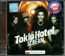 Tokio Hotel ‎– Scream PL (Sealed/Folia) Polish Hologram & Stickers