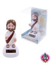 JESUS SAVES SOLAR PAL POWERED FLIP FLAP WAVING FIGURE TOY GREAT GIFT IDEA