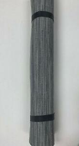 Pottery Barn Chilewich Bamboo Floor Mat 1.9 x 3' Fog