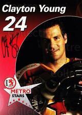 2003-04 German DEG Metro Stars Postcards #24 Clayton Young