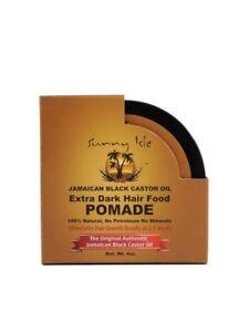 Sunny Isle Extra Dark Hair Food Pomade Jamaican Black Castor 4 oz