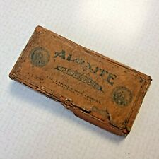 VINTAGE Carborunoum Co. Aloxite Knife Sharpening Stone Made in U S A