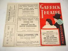 1945 England London Garrick Theatre Theater Ad Brochure Program Programme