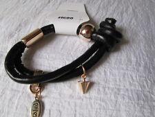 Armband Kunststoff Schwarz Knoten