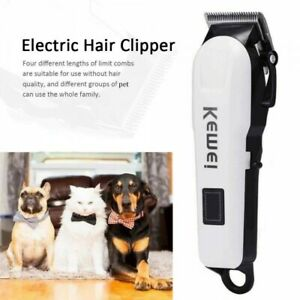 Professional Pet Cat Dog Hair Clipper Trimmer Shaver Cordless **UK FAST POST**
