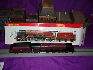 "Hornby OO gage BR 4-6-2  Princess Coronation Class. ""City of Leeds"""