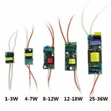 LED Power Supply Driver 1-3W 4-7W 8-12W 25-36W Constant Current Transformer DC