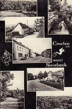 ANSICHTKAART NOORBEEK ZUID-LIMBURG GROETEN UIT (ca. 1963)