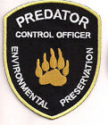 "Primeval Predator Control Officer 3.5"" Logo Patch-FREE S&H (PRPA-01)"
