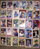 YOU PICK THE TEAM:1980-1995 (15 Years; 150 Cards)