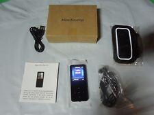 MP3 Player HonTaseng Portable Sport Metal Music Player Card Slot FM Radio