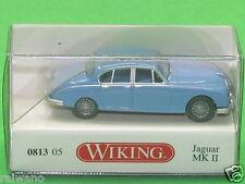 1:87 Wiking 081305 Jaguar MK II - blau Blitzversand per DHL-Paket
