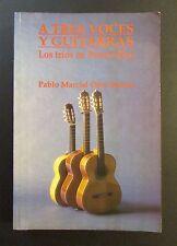 VTG BOOK / A TRES VOCES Y GUITARRAS / LOS TRIOS EN PUERTO RICO / P MARCIAL ORTIZ
