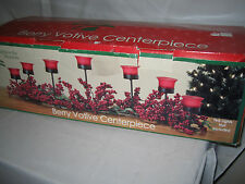 Berry Votive Centerpiece Holiday Christmas Candle Holder Table Centerpiece NICE