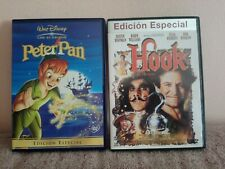Pack 2 Dvd:Walt Disney Peter Pan+Hook Steven Spielberg