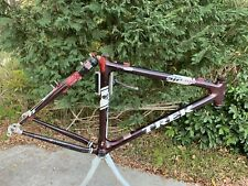 "Trek STP 300 Carbon Soft Tail Mountain Bike Frame 26"" 19.5"" Large Made In USA"