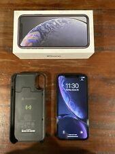 Apple iPhone XR (64GB) Unlocked - Black- Excellent Condition (with Mophie!)