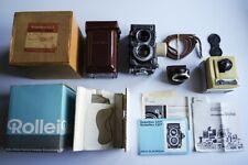 Rolleiflex 3.5F Planar White Face 12/24